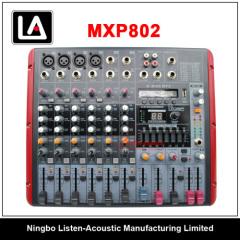 New Professional 8 Channels Audio Mixer MXP 802