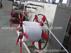 PVC/PERT small hose extrusion machine
