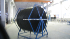 Large Diameter Hollow Wall Winding HDPE/PP Pipe Production line