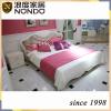 Morden bed frame mdf panel bed