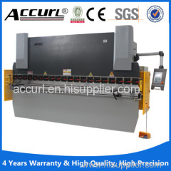 125T/2500 NC-control Hydraulic Plate press brake