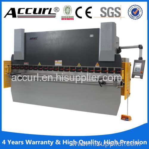 125T/2500 NC-control Hydraulic Plate press brake