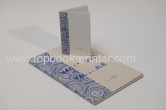 Double-color gold stamping cover cotton cloth-wrapped spine clothes hardcover book