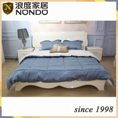 Hotel bed mdf panel bed 8508