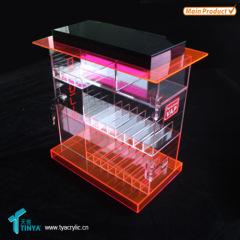 Retail store E liquid display rack
