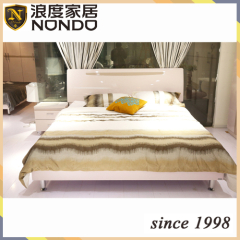 Bedroom furniture sets wooden furniture double bed 7815