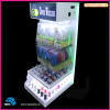 Manufacturer Custom LED Light Plastic Phone Accessory Display Cabinet Showcase Acrylic Cell Phone Charger Display Stand