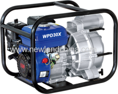 7hp Gasoline sewage/trash water pump