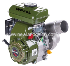 3inch low pressure water pump power by 2.4hp gasoline engine