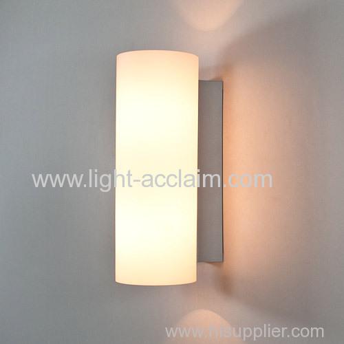 Modern minimalist LED wall lamp bedroom bedside lamp glass wall lamp
