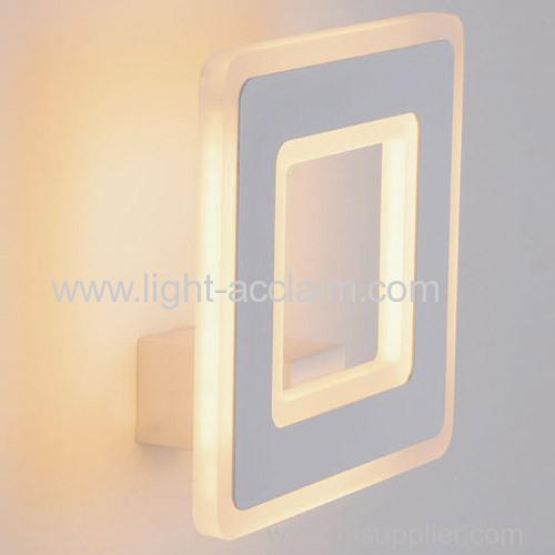 Modern minimalist LED acrylic wall lamp Acrylic LED wall lamps