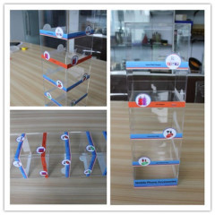 China Supplier 5 Shelf Acrylic Counter Mobile Phone Accessory Display Cell Phone Accessories Stores Display