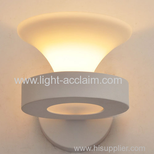 Creative activity contracted iron wall lamp glass lamp glass wall sconces