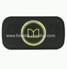 Monster Superstar HD Powered Portable Wireless Speakers Neon Green Black