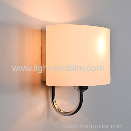 IKEA Bedside Lamp Wall Lamp Wall Lamp White Glass Sconce