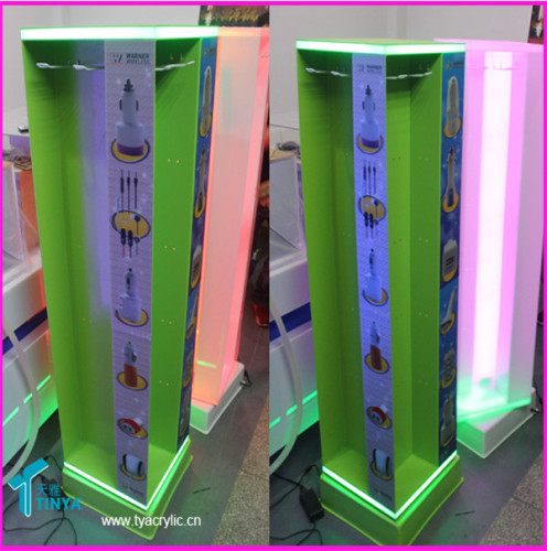 Rotating Accessories Display Stand