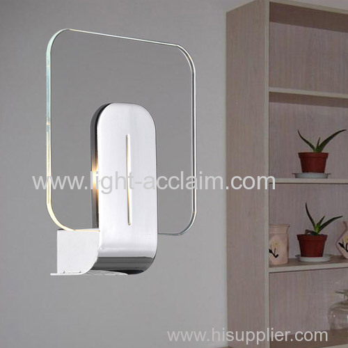2015 new departments transparent glass wall lamp wall lamp products indoor wall sconce
