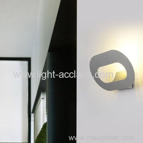 Creative LED white iron wall lamp modern wall lights Energy saving light source