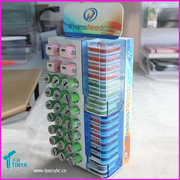 Rotating Mobile Phone Accessories Display Stand From China