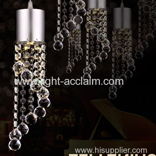 Luxury and popular LED crystal lights chandelier for sale