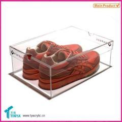 Plastic Shoes Box Display