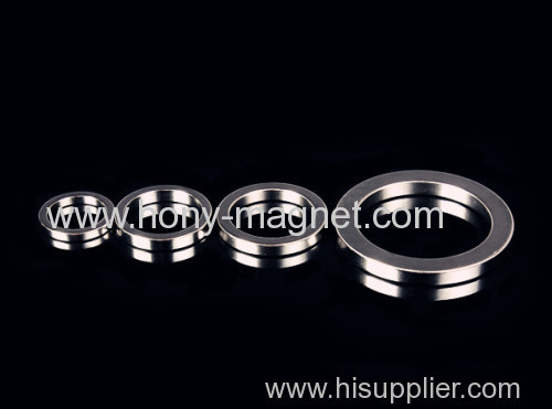 Permanent Disc shaped cheap ndfeb ring magnet