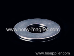 Sintered Ring Shape Zinc Plating NdFeB Magnet