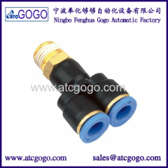 Y thread connector 12mm 10mm for filling machine liquid