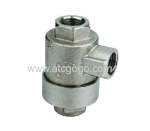 "Flow control valves 1/8"" 1/4"" air check valve 3/8"" 1/2"" black hand valve"
