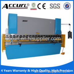 2015 hot sale E21 NC hydraulic metal plate press brake
