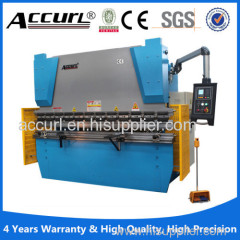 manual operation 2mm steel sheet hydtaulic press brake