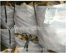 jumbo bag big bag for packing firewood pallet