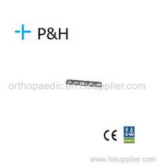 Placa de Implante Ortopédico para Raio de Membro Superior e Ulna Placa de Compressão Comum LC-DCP Comum