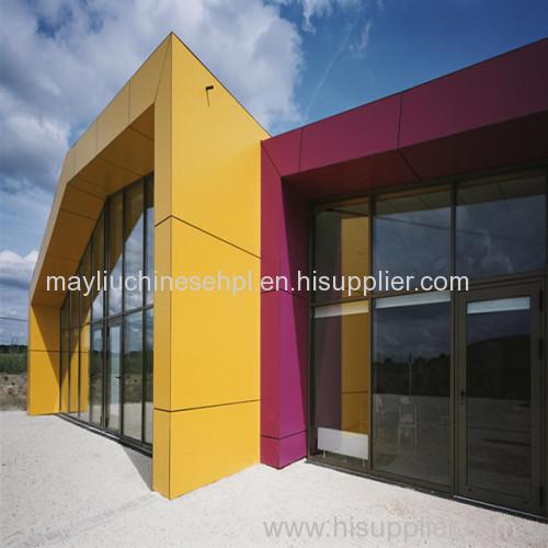 Exterior hpl panel phenolic laminate wall cladding FMH-W0407 ...