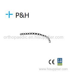 上肢遠位側外側上腕骨プレート左右の整形外科インプラントプレート