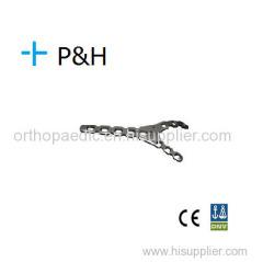 Ортопедическая имплантат Plate верхней конечности Olecranon Фосса плиты правый и левый