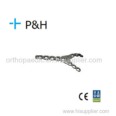 Orthopaedical Implant Plate for Upper Limb Olecranon Fossa Plate left right