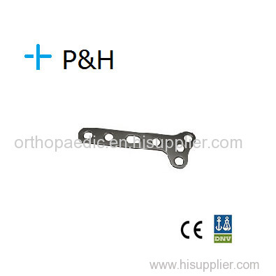 Orthopaedical Implant Plate for Upper Limb T Plate oblique Small T-Plate