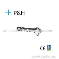 Trauma Orthopaedic Implant Titanium and S.S. Plate for Upper Limb Distal Lateral Radius Plate