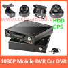 HD 1080P H.264 CCTV Mobile DVR Vehicle HDD recorder 4 channel support GPS