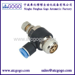 1/8 - 6mm flow control valve for hot filling machine