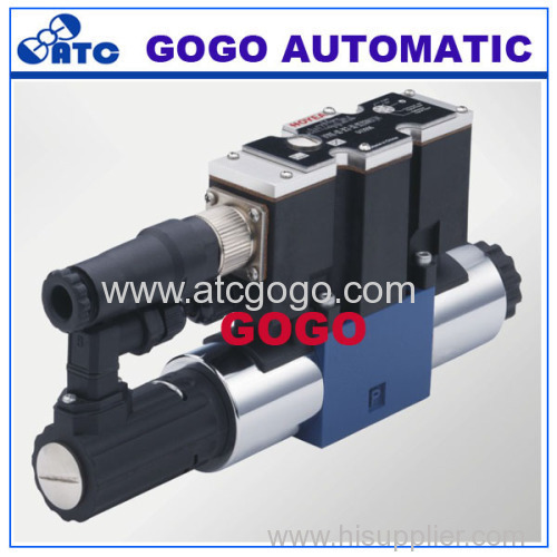 Directly operated proportional directional valve