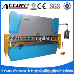 ecomical type E21 NC hydraulic steel sheet bending machine