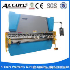 Hydraulic power E21 control metal plate press brake