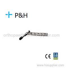 Orthopedische Implant Plaat voor Lower Limb DHS Plate
