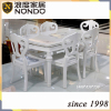 Chiese table white dining table
