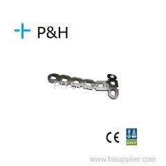 Placa de Implante Ortopédico para Membro Inferior L Placa esquerda e direita