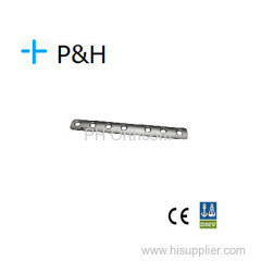 Ортопедическая имплантат Пластина для нижней конечности 1/3 трубчатой плиты