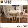 Indoor furniture dining room set round table