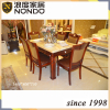 Traditional hand carved dining set